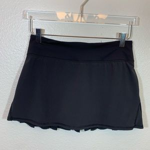 lululemon athletica Skirts - Lululemon run pace setter skirt black